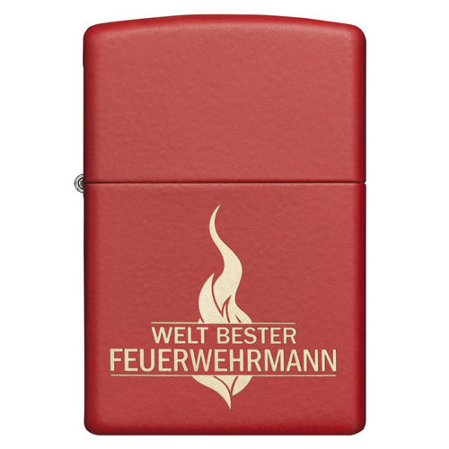 Zippo Best Fireman of the World