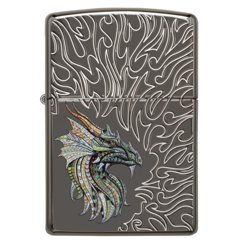 Zippo Dragon With Flames