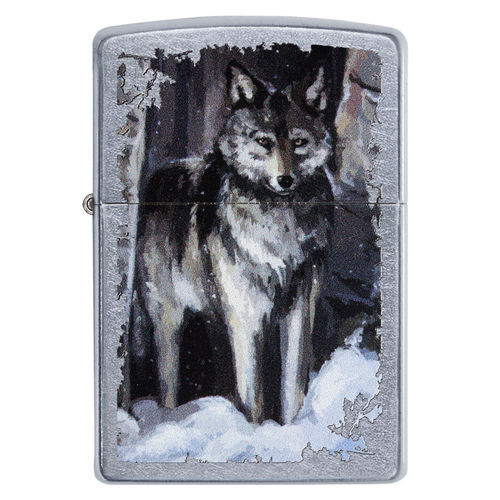 Zippo Wolf In Forest
