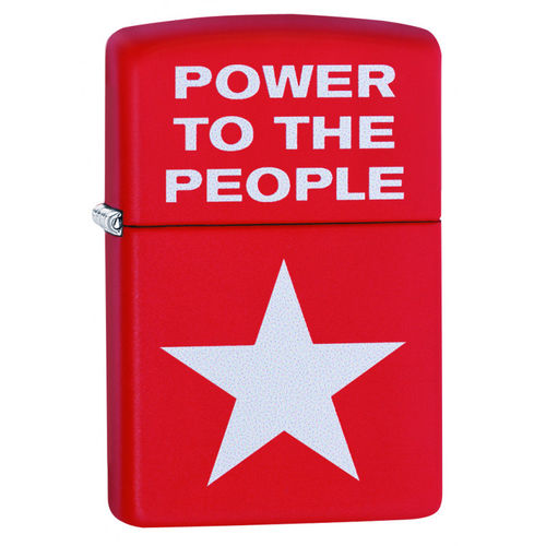 Zippo Power to the People