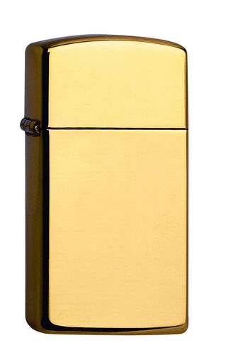 Zippo Brass High Polished Slim