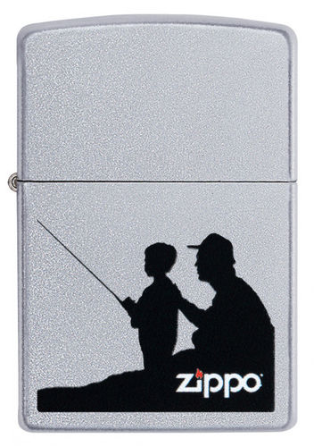 Zippo Fishing Father and Son