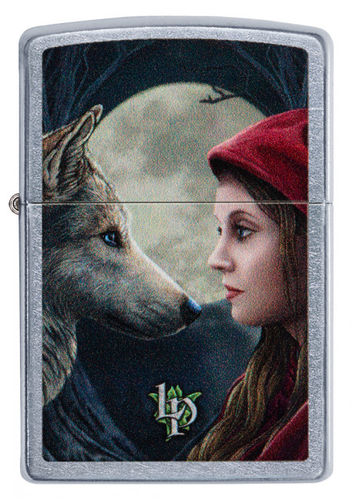 Zippo Lisa Parker Moon and Wolf