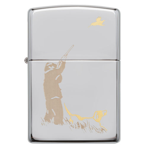 Zippo Hunting with Dog