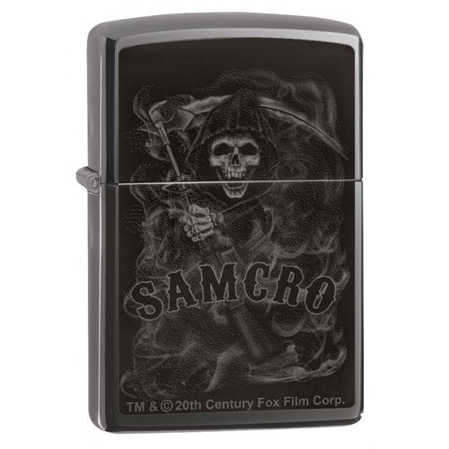 Zippo Sons of Anarchy Black Death